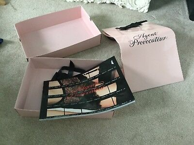 Agent Provocateur Gift Bag, Box And Brochure