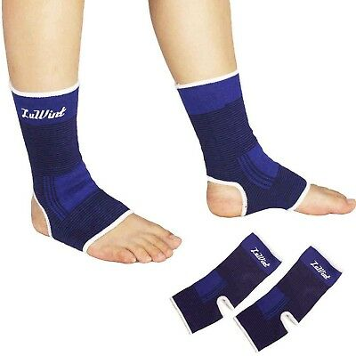 Luwint Elastic Breathable Ankle/ Palm Brace - Foot Wrist Compression Support ...