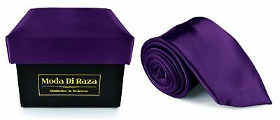 Moda Di Raza Men NeckTie With Or Without Cufflink and Handkerchief in Gift Box