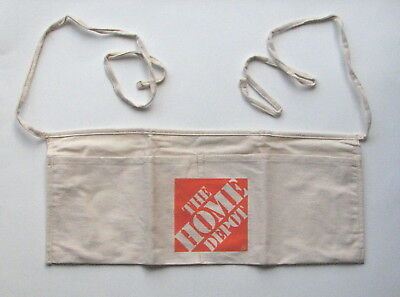 Home Depot Canvas Work Apron Tool Pouch New