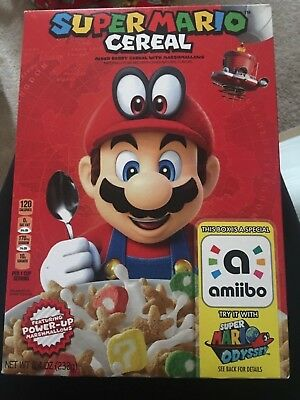 Super Mario Odyssey Cereal Limited Edition