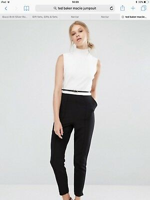 Ted Baker Maciie Jumpsuit size 1