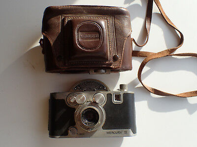 Vintage Universal Mercury Ii Model Cx Camera With Case 1945 - For Charity