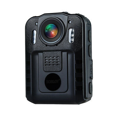1296P Security Body Worn Cam DVR Police Video Record Night Vision 170°Waterproof