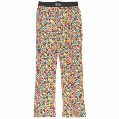 M and Ms Candy Pajama Pants Sleepwear Multicolor M&M New