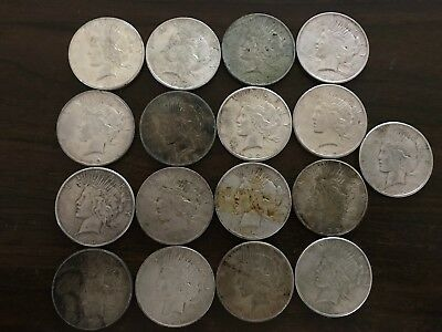 One (1) 1922-1925 Peace Silver Dollar