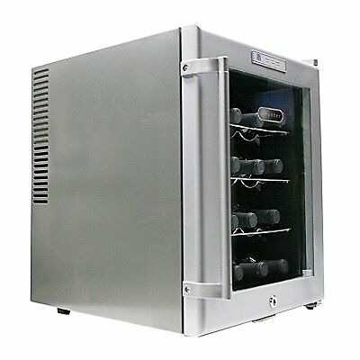 Last ONE! Whynter SNO 16 Bottle Wine Cooler Platinum with Lock