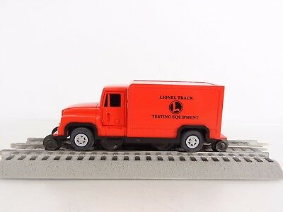 Lionel O Scale On-Track Testing Equipment Track Inspection Van Item 6-18423 New