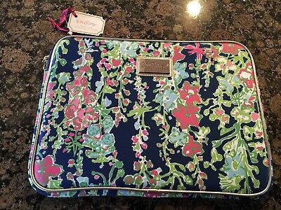 """Lilly Pulitzer Women's Tech Sleeve 13"""" Laptop Tablet Southern Charm"""