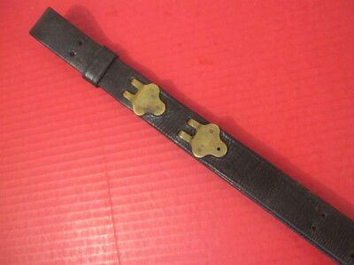 WWI Era US ARMY AEF M1907 Leather Sling M1903 Springfield Rifle - No marking #2