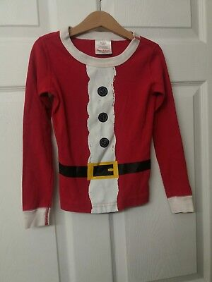 HANNA ANDERSSON Organic Cotton HOLIDAY PAJAMAS BOY GIRL 120 *TOP ONLY