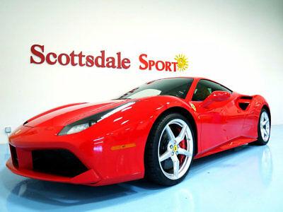 2017 Ferrari 488 * ONLY 92 MILES... 2017 488 GTB w ONLY 92 MILES!! * ONLY 92 MILES!! * LOADED! * FLAWLESS EXAMPLE!!