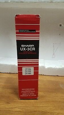 Sharp UX-3CR Fax Machine Imaging Film For UX300 UX305 UX460 2 Pack NEW 1 Opened