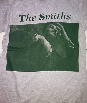 "Limited 1986 The Smiths ""Queen Is Dead Manchester Shirt, Morrissey XL"