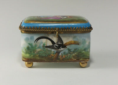 19th Century Sevres style Porcelain Box