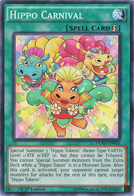 Yugioh! Hippo Carnival - DUEA-EN055 - Common - 1st Edition Near Mint, English
