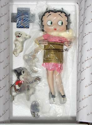 """DANBURY Mint BETTY BOOP You Steal Our Hearts 11"""" Porcelain Figurine MIB Syd Hap"""