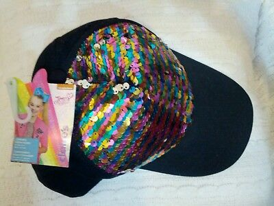 JoJo Siwa Sequin Hat Reversible~ Dance It Out Collection