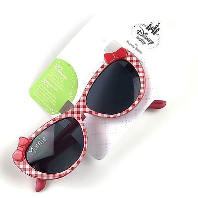 Disney Store Baby Girls Minnie Mouse Sunglasses Red 100% UV Protection