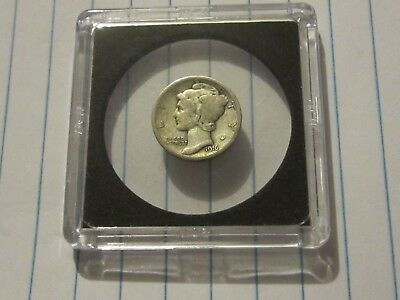 1916 Mercury Dime, Very Good Condition. Free Ship.