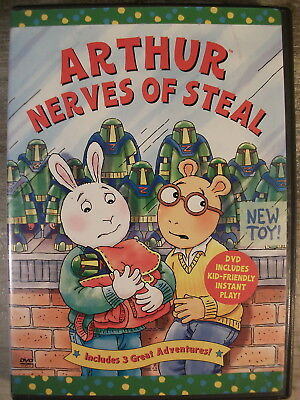 Arthur - Nerves of Steal (DVD, 2005) RARE!