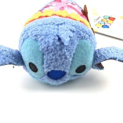 Disney Store Aloha Stitch Tsum Tsum Plush Mini Hawaii Exclusive