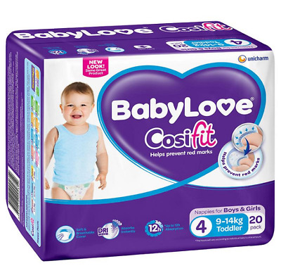 BabyLove Cosifit Nappies Toddler 9-14kg BabyLove