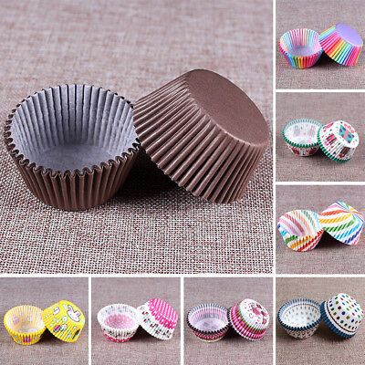 Mini 100pcs/set Cupcake Liners Paper Cake Baking Cup Muffin Cases Party DIY Tool