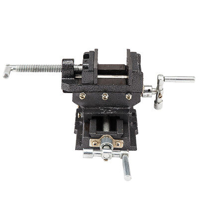 """Cross Slide Vise 5"""" inch Wide Drill Press X-Y Clamp Milling Heavy Duty Tool New"""