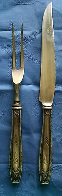 Antique RW&S, Wallace Antique/Vintage Sterling Silver Carving Set
