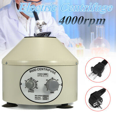 Electric Centrifuge Lower-speed Desktop Laboratory Centrifugal Machine 4000rpm