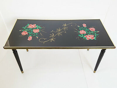 Coffee Table Rectangular The Roses 1960 Vintage Rockabilly 60's 60S Years 60