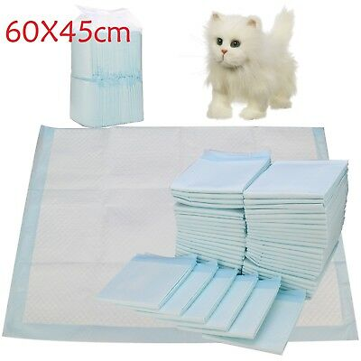 100Pcs Large Puppy Training Trainer Train Pads Toilet Pee Wee Mats Dog Cat