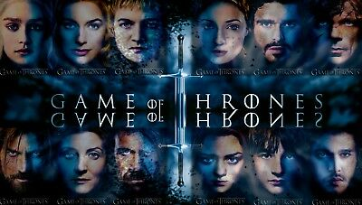 Game of Thrones Drama series High Quality wall poster Choose your Size