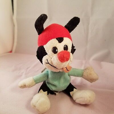 "Mickey Mouse Animaniacs  7"" Plush Toy Ace 1998 Plush Key Chain"