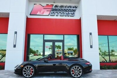 2012 Porsche 911  2012 911 CARRERA S CABRIOLET - 991 BODY - ONLY 8,000  MILES - 1 OWNER