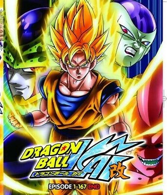 DVD Anime Dragon Ball Kai Episode 1-167END English Dubbed All Region FREE SHIP