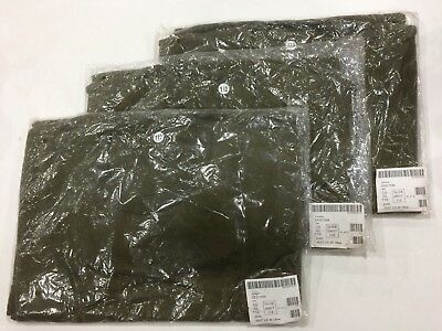 NEW, GENUINE BRITISH ARMY VEST/T SHIRT, OLIVE, CHEST 112 ( XL Long) Pack of 3