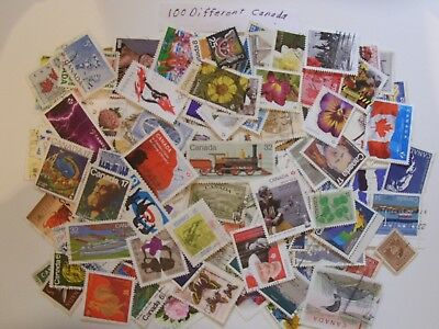 100 To 900 ALL DIFFERENT Used CANADA Stamps good stamps