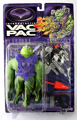 Rare 1995 Vac Pac Figure Arch Enemy Of Stretch Humongor Cap Toys New Sealed !