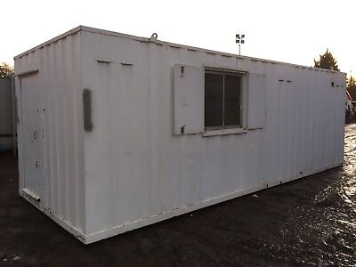 Site Office Drying Room 24x9 Portable Building Anti Vandal Steel More Available!