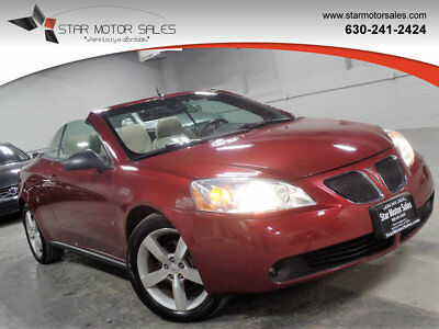 2009 Pontiac G6 2dr Convertible GT w/1SB 2dr Convertible GT w/1SB Navigation !!! Heated Seats !!! Bluetooth !!! Low Miles