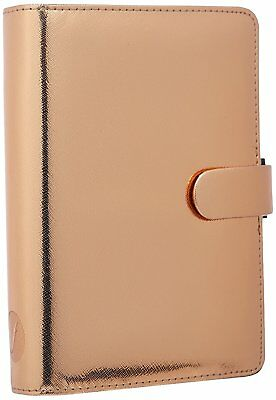 Filofax 2017 Personal Organizer and Planner with Small Binder Rings - Rose Gold