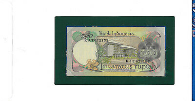 Banknotes of All Nations Indonesia 100 Rupiah 1977 P117 UNC Prefix KJT
