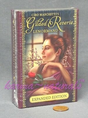 Lenormand GILDED REVERIE Card Deck - Expanded Edition - by Ciro Marchetti NEW