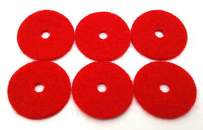 Spool PIN FELTS RED 10 Pack Fit for Singer Featherweight 221 222 301-8879 RED