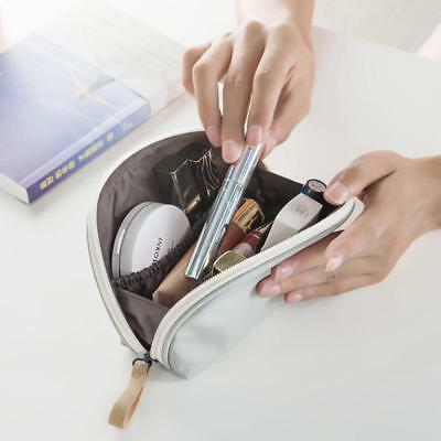 Travel Portable Makeup Toiletry Wash Cosmetic Pouch Organizer Makeup Shell Bag B