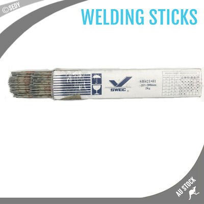 2.5mm 2KG/85Pcs Welding Sticks Electrodes Handy Pack Arc Rod Welding Rods