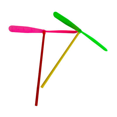 24pcs Plastic Dragonfly Assortment A Whirl pinata fillers Mini Helicopter G S3K1