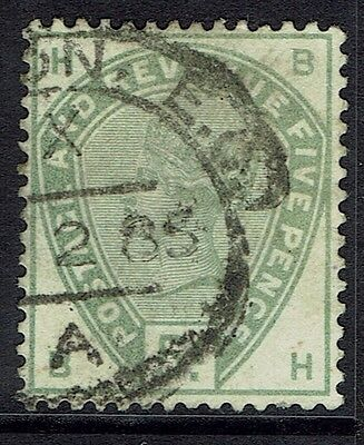 Great Britain, Used, 104, Green, Very Nice